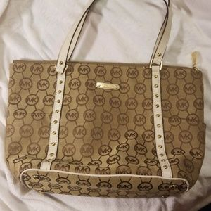 Michael kors Signature canvas tote